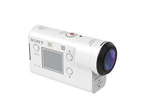 Sony FDR-X3000 3D model
