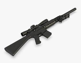 3D Sniper Rifle SR25