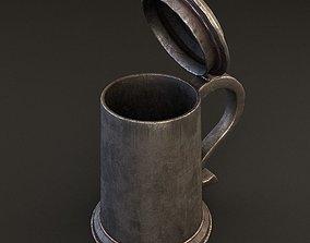 3D model Metal cup