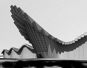 Modern Building 3D building