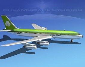 3D Boeing 707 Aer Lingus