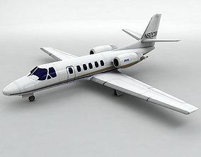Cessna Citation Bravo 3D asset