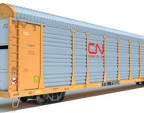Canadian National Auto Carrier 3D