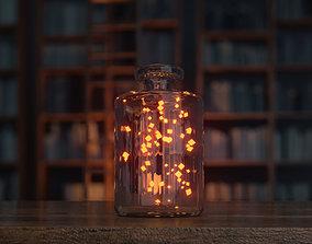 3D asset jar animation