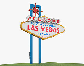 Welcome to Fabulous Las Vegas sign 3D model