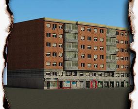 3d 3D model low-poly Building