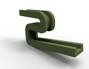 3D print model Poly beg holder