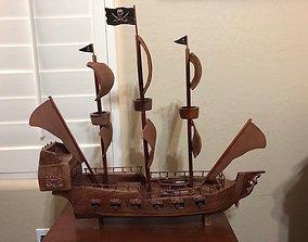 miniatures 3D print model Pirate ship