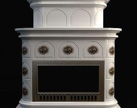3D model Fireplace materials