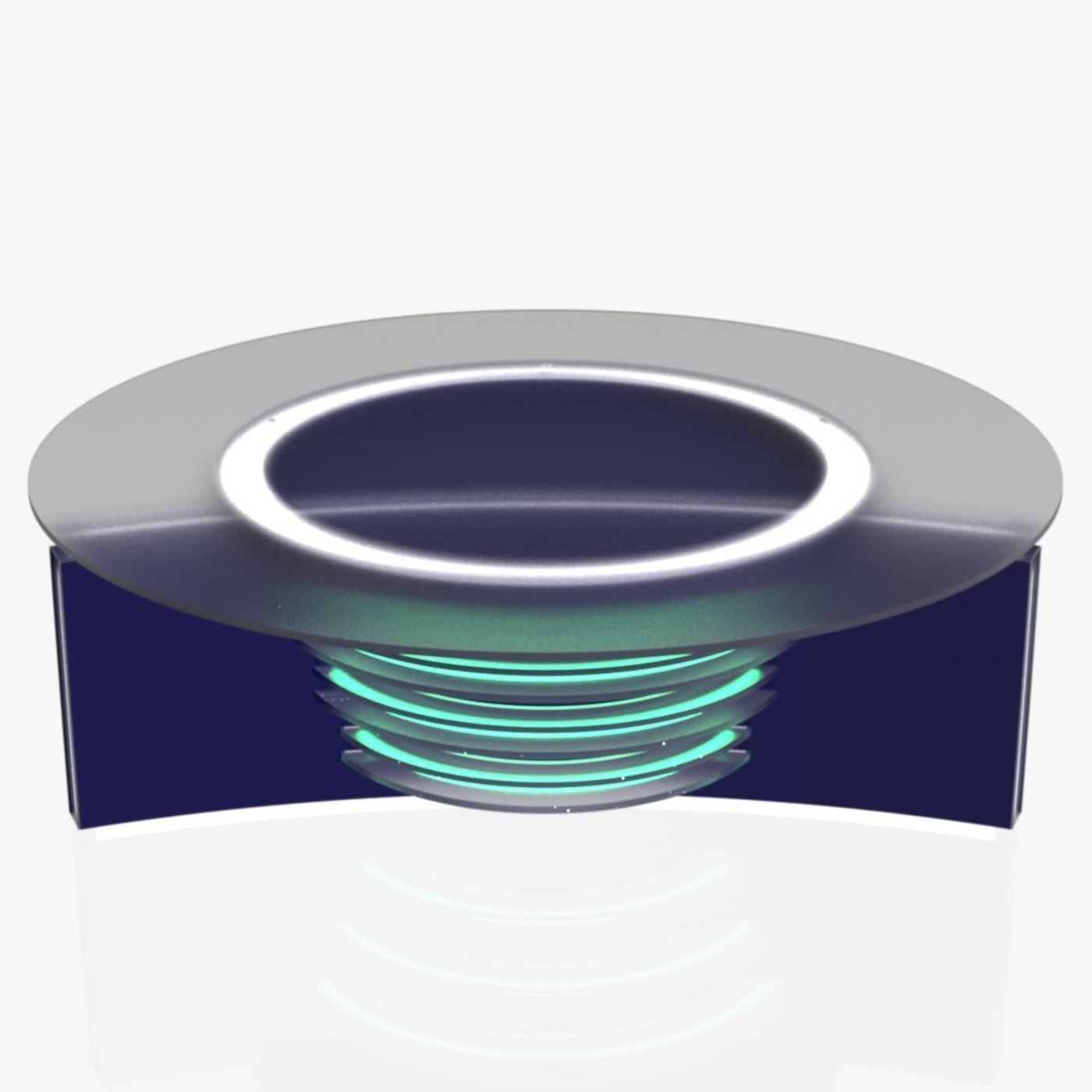 3D TV Studio News Desk 6