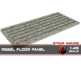 3D printable model Star Wars Rebel Floor Panel 1-48 scale