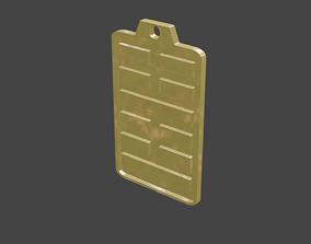 3D printable model rgd zhen hexagram pendant
