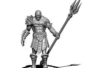 Gladiator 3D print model - retiarius 35mm scale