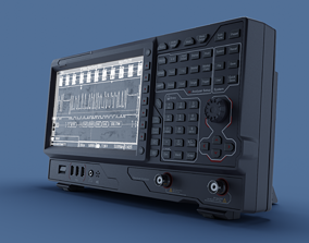 RSA Spectrum Analyzer 3D model PBR