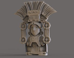 3D print model Mayan Figurine 3