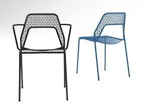 3D model BluDot Hot Mesh armchair and chair