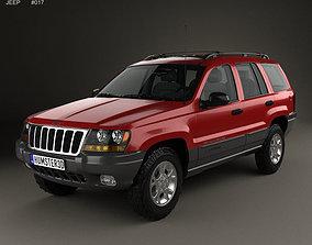 Jeep Grand Cherokee WJ 1998 3D model