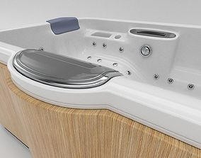 3D asset Hot Tub Whirlpool Spa