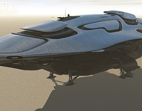 United Federation Colonial Transport 3D