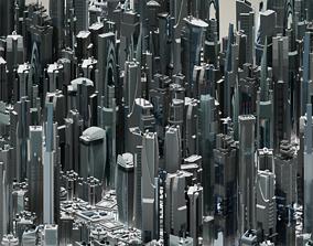 35 Futuristic Buildings VOL 1 3D model