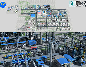 Refinery 3D model realtime
