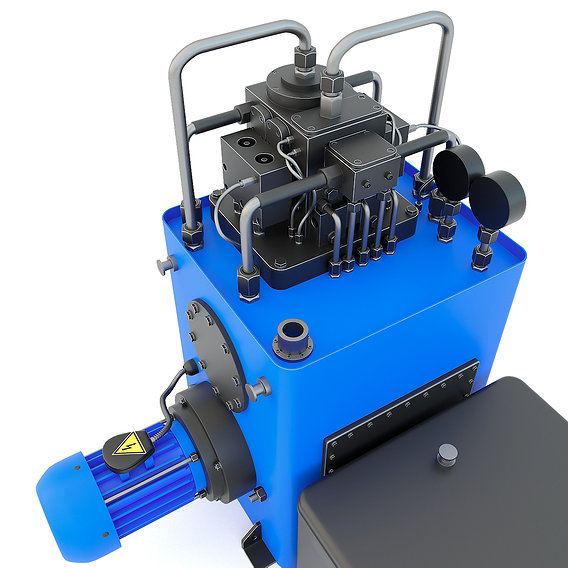 Industrial machine tool - Hydraulic unit G4617 spare part