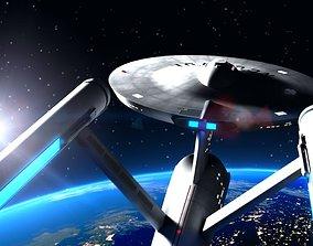 Star Trek The Original Series USS Enterprise 3D model