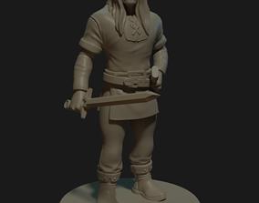 toys 3D print model warrior