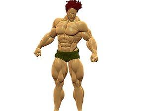 Body Builder Statue N 8 3D print 3D model
