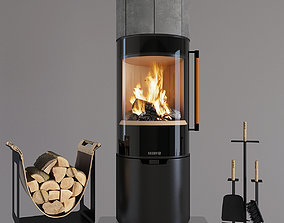 Fireplace Keddy K900T 3D