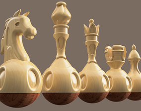 TUMBLER CHESS 3D print model