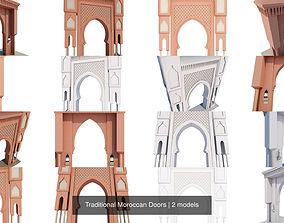 3D model Traditional Moroccan Doors