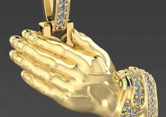 Hands pendant
