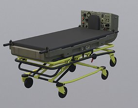 3D model LSTAT Life Support for Trauma and Transport