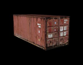 Cargo Container 3D printable model