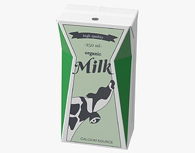 3D Tetra Brik Aseptic Base Crystal Milk