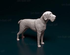 Deutsch Drahthaar dog 3D printable model