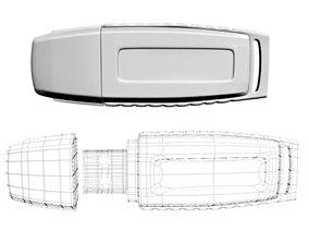 3D model USB Flash Drive 01