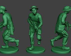 3D printable model Modern Jungle Soldier Run3 MJS1
