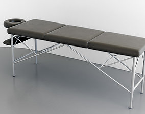 massage table foldable simplified 3D model