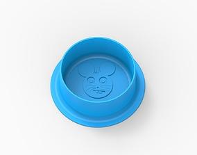 hamster feeding bowl 3D print model
