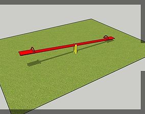 3D model swing lever