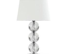Glass Table Lamp 3D Model glass