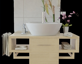 general-decor washbasin set 3D