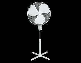 Oscillating Pedestal Fan 3D asset