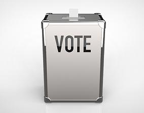 3D model ballot box