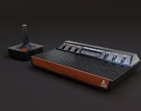 3D model realtime Atari 2600 Six Switch Variant