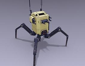 Spiderbot 3D asset