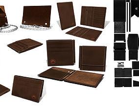 3D Model Leather wallet Bens