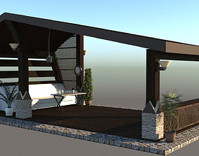 Alcove for rest 3D